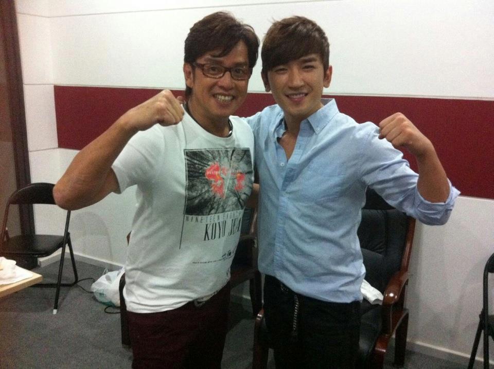 Minwoo with Alan Tam