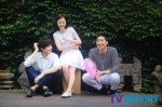 Test filming (cr TV Report)